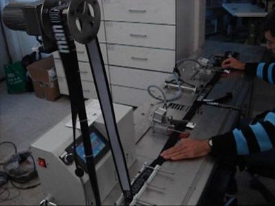 Firesiz Sıcak-Soğuk Lastik Kesme Makinası
