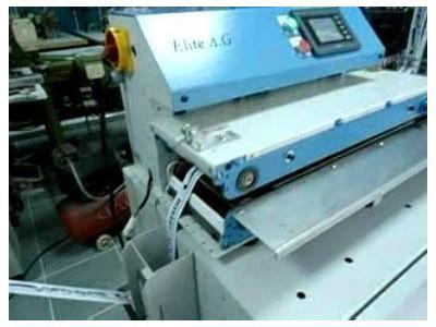 ELİTE AG - Otomatik Bant Kalkmalı Tela Presi - 200 Mm