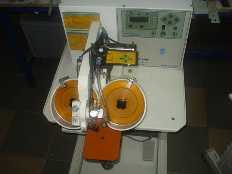 DAİRO DK2400 - Çift Kafa Ultrasonik Taş Ve Pul Yapıştırma Makinası