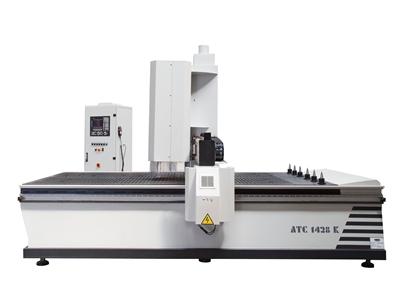 Cnc Ahşap İşleme Makinası - 1400 X 2800 Mm Makser ATC 1428 K Makser ATC 1428 K