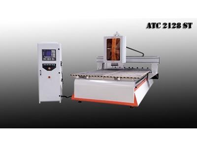 Cnc Ahşap İşleme Makinası - 2100 X 2800 Mm Makser ATC 2128 ST Makser ATC 2128 S...
