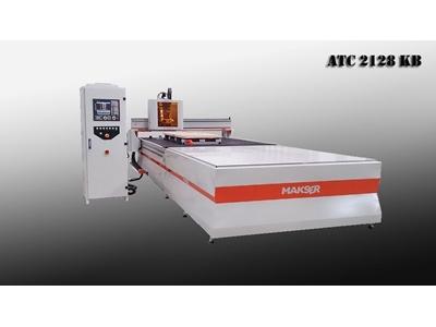 Cnc Ahşap İşleme Makinası - 2100 X 2800 Mm Makser ATC 2128 KB