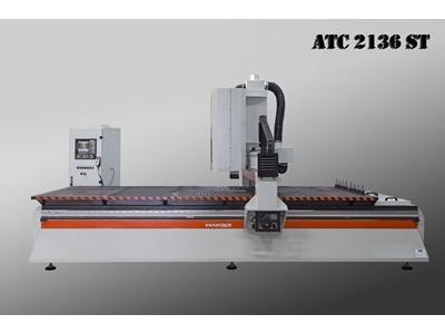 Cnc Ahşap İşleme Makinası - 2100 X 3600 Mm Makser ATC 2136 ST Makser ATC 2136 S...