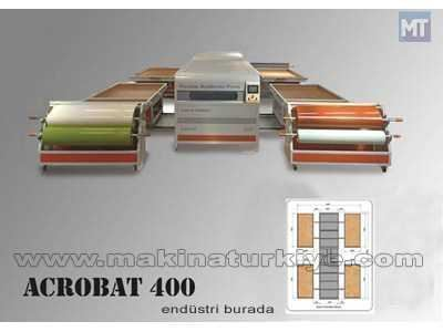 Akrobat 400 Vakum Membran Pres Makser Acrobat 400 Makser Acrobat 400 1