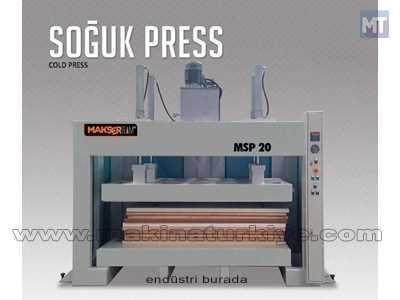 Soğuk Pres 1100*1100 Mm Makser Team MSP 20 1