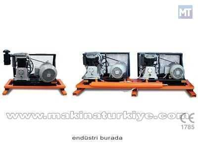 1000 Lt - 2x10 HP - 400 Volt Endüstriyel Pistonlu Hava Kompresörü