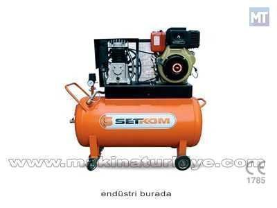 150 LT - 8,5 HP Pistonlu Dizel Motorlu Hava Kompresörü