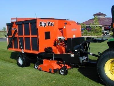 Çim Süpürge Makinası 5,36 m³
