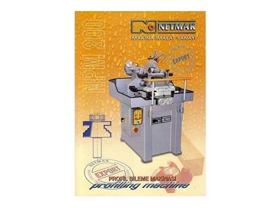 Netmak Npm 200 Profil Bıçak Bileme Makinası