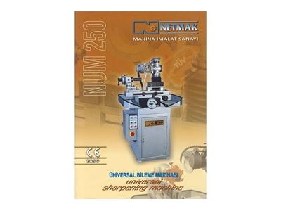 Netmak Num 250 Üniversal Bıçak Bileme Makinası