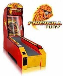 Fire Ball Fury Oyun Eğlence Makinası