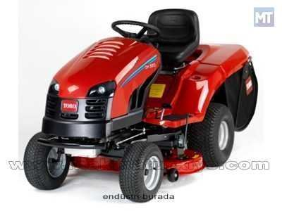 Dh 220 Çim Biçme Traktörü Benzinli - 102 Cm