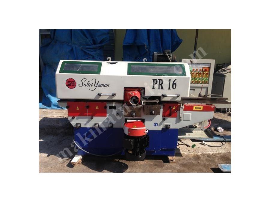 Sabri Yaman Pr 16 Profil Makinası