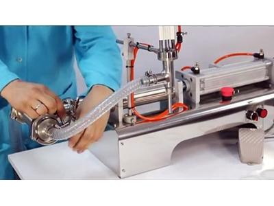 Ryd-S100 Yarı Otomatik Tek Nozullu Akışkan Ürün Dolum Makinası 5-100 Ml