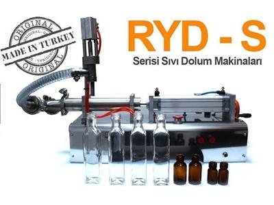 Ryd-S1500 Yarı Otomatik Tek Nozullu Akışkan Ürün Dolum Makinası