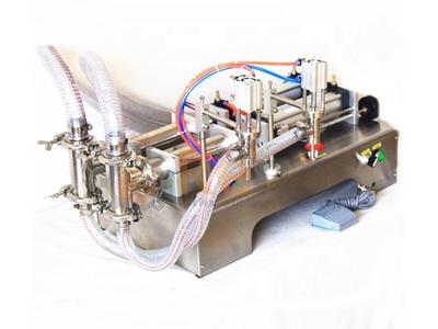 Ryd-S2 100 Yarı Otomatik Çift Nozullu Sıvı Dolum Makinası 5-100Ml