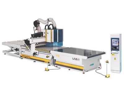 Aes Line-R 2128 Cnc Ahşap İşleme Oyma Makinası 2100 X 2800 Mm