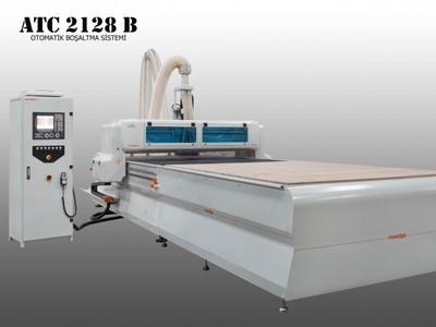 Atc 2128 B Cnc Ahşap İşleme Makinası 2100 X 2800 Mm