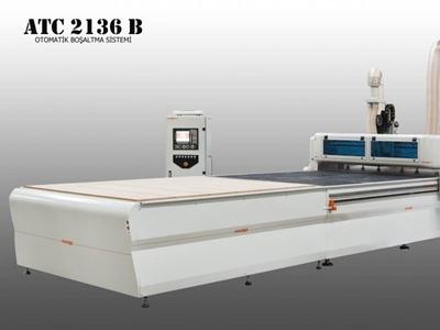 Cnc Ahşap İşleme Makinası 2100 X 3600 Mm