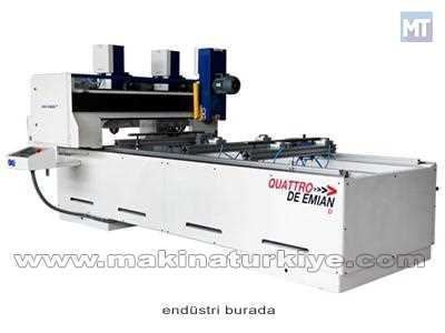 Quattro De Emian D Kapı Ebatlama Makinası