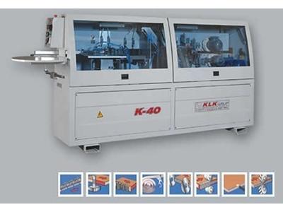 Klk K-40 Baş-Son Kesmeli Kenar Bantlama Makinası