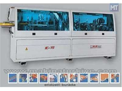 Klk K 75 6 Üniteli Kenar Bantlama Makinası