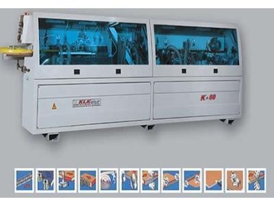 Klk K 80 6 Üniteli Kenar Bantlama Makinası