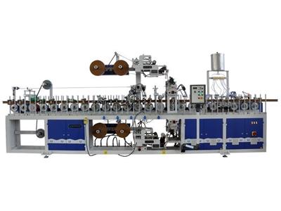 Unimak Pw 35 W6-Pa Çift Yüzlü Ahşap Profil Kaplama Makinası