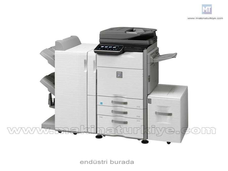 Siyah Beyaz Fotokopi Makinası Max 6600 Yaprak 46 Kopya /Dk
