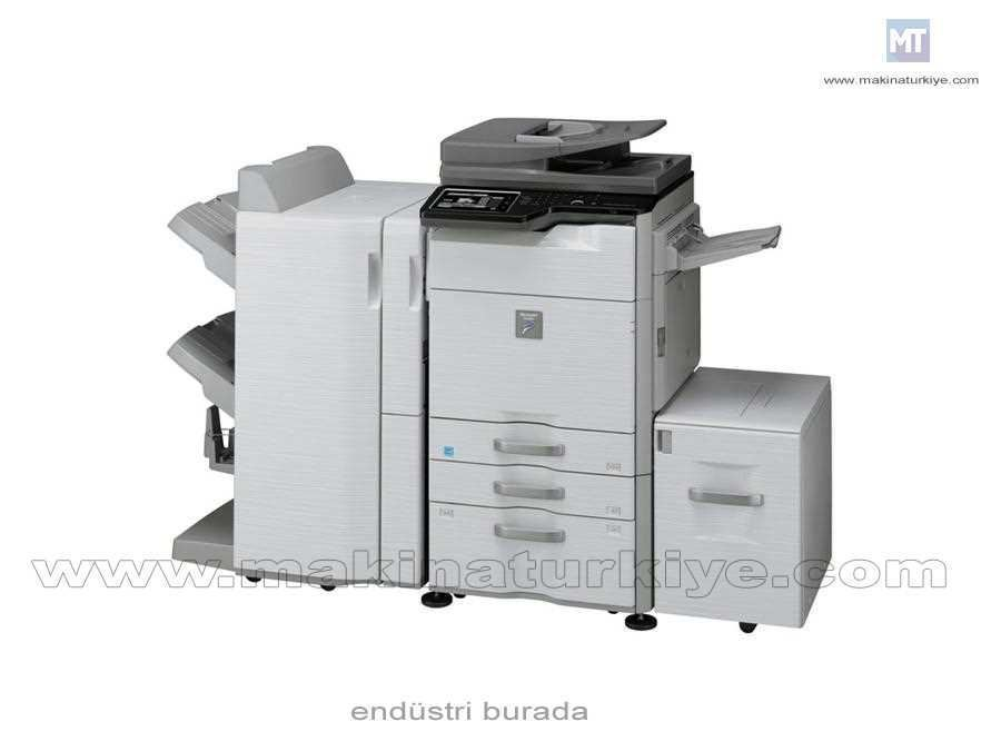 Sharp MX-M564N Siyah Beyaz Fotokopi Makinası Max 6600 Yaprak 56 Kopya /Dk