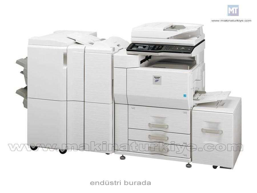 Siyah Beyaz Fotokopi Makinası Max 6600 Yaprak 75 Kopya /Dk
