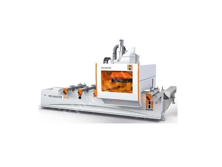 Holz-Her Pro-Master 7018 Premium Cnc Ahşap İşleme Makinası 3425 x 1287 Mm