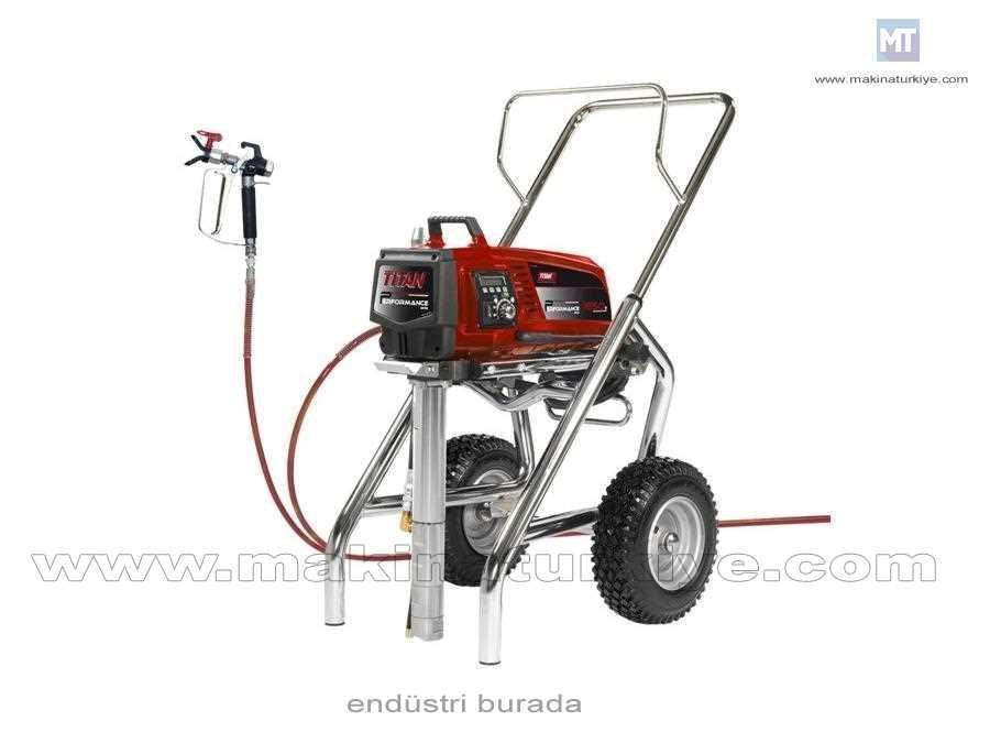 Titan 1650E Elektrikli Pistonlu Boya Pompası 5 Lt /Dakika