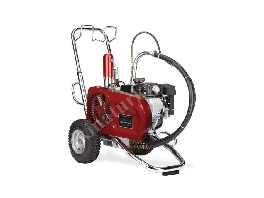 Hidrolik Pistonlu Boya Pompası Benzinli 4,73 Lt / Dakika