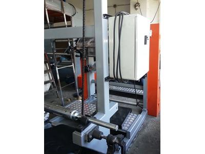 2 Renk Flekso Karton Bardak Baskı Makinesi 900 mm