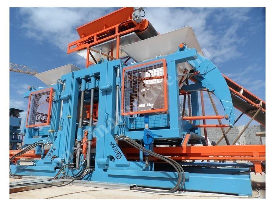 Satılık Full Otomatik Parke- Briket- Bordür Makinası 36 Lık