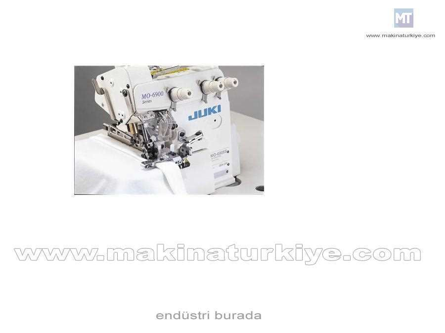 Juki Mo-6904S-0E4-40H/Z173 3 İplik Kıstırmalı Overlok Makinası
