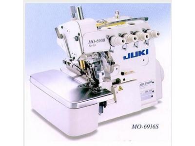 Juki Mo-6916S-Fh6-60H 5 İplik Kot Overlok Makinası 11,2 Mm