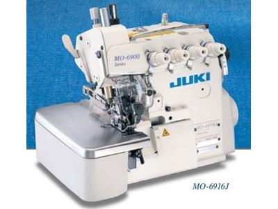 Juki Mo-6916J 5 İplik Alt Üst Transportlu Bornoz Tipi Overlok Makinası