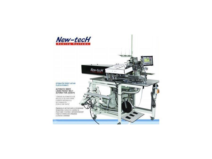 Otomatik Ceket Astar Fleto Makinası 2000 Cep /8 Saat