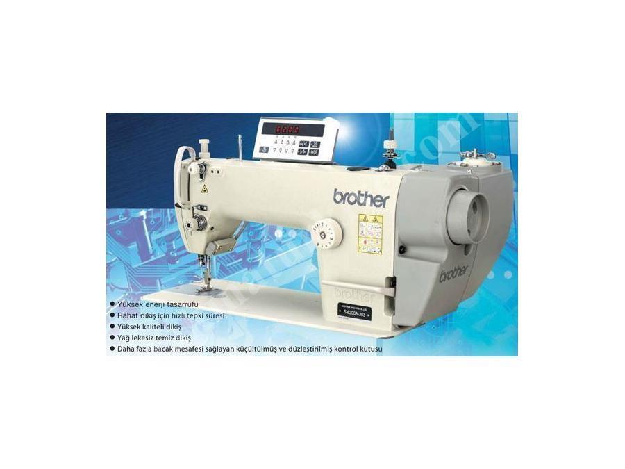 Brother S-6200-A-303 Orta Kumaşlar İçin Elektronik Düz Dikiş Makinası 4,2 mm