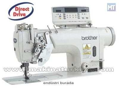 Brother T-8450 B İptalli Çift İğne Dikiş Makinası