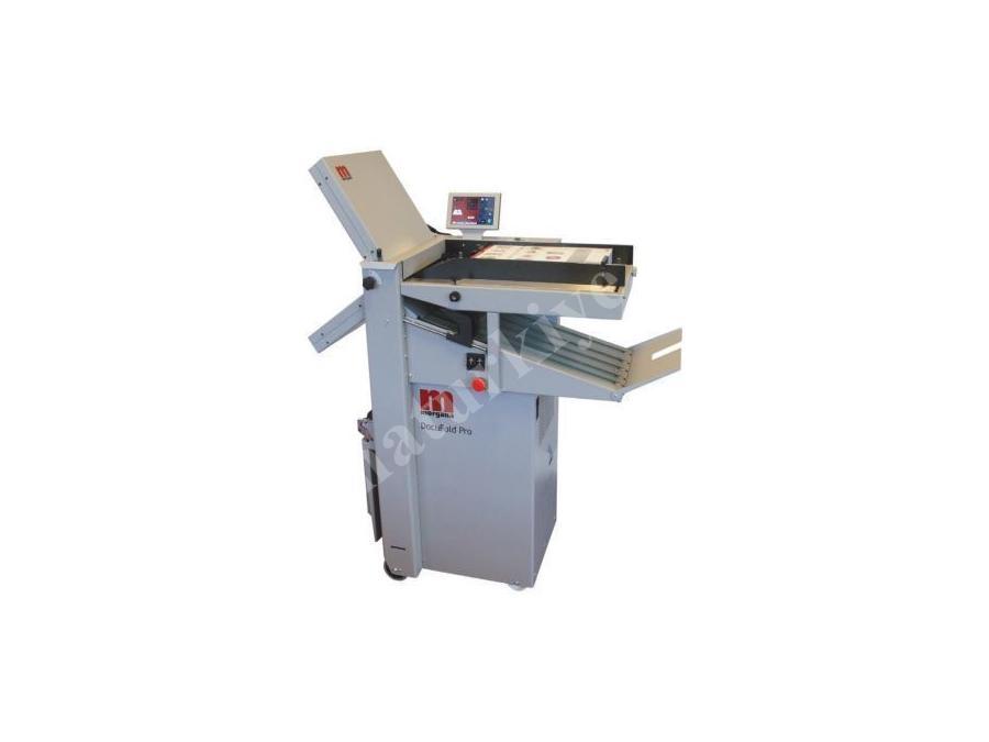 Morgana Docufold Pro 2 Çantalı Kağıt Katlama Makinası 365 X 674 Mm
