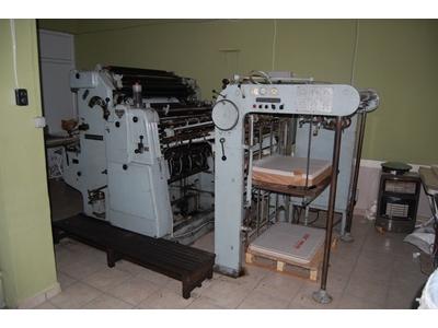 Roland-Parva Ofset Baskı Makinesi