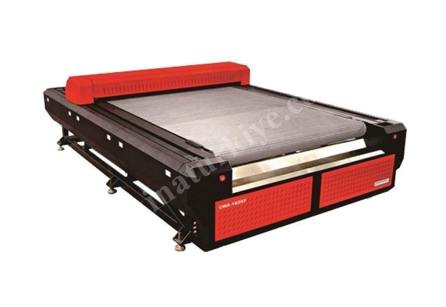 Bantlı Sistem Top Kumaş Lazer Kesim Makinası 1600 x 2500 mm