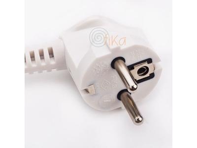 16A Topraklı Fişli Kablo (Avrupa Tipi) 0,50 Mm2