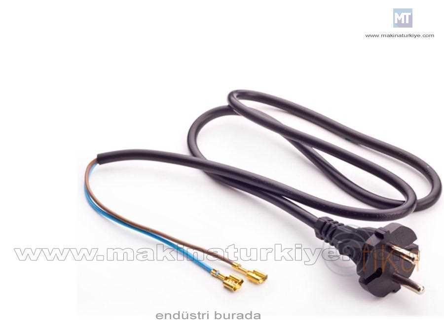 16A Topraksız (10A) Fişli Yassı Kablo 2 X 0,50 Mm2