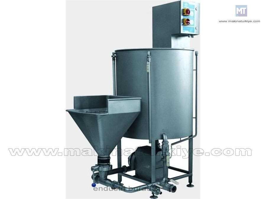 Soğutmalı Et Enjeksiyon Sıvısı Karıştırma Makinası 2000 Dm³