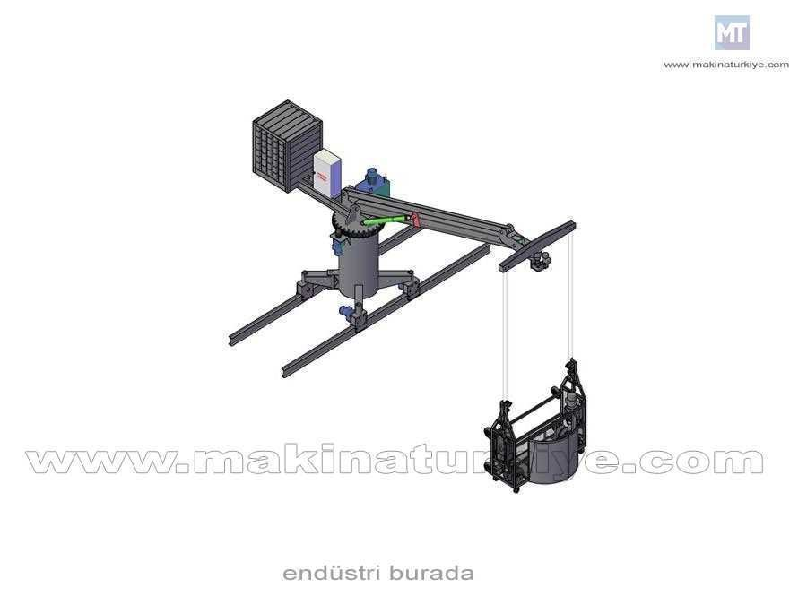 2St 50 Cephe Temizlik Sistemi (Bmu) 240 Kg
