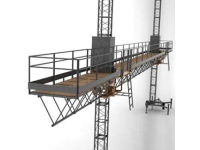 2000 Kg Çiftli İnşaat Cephe Platformu
